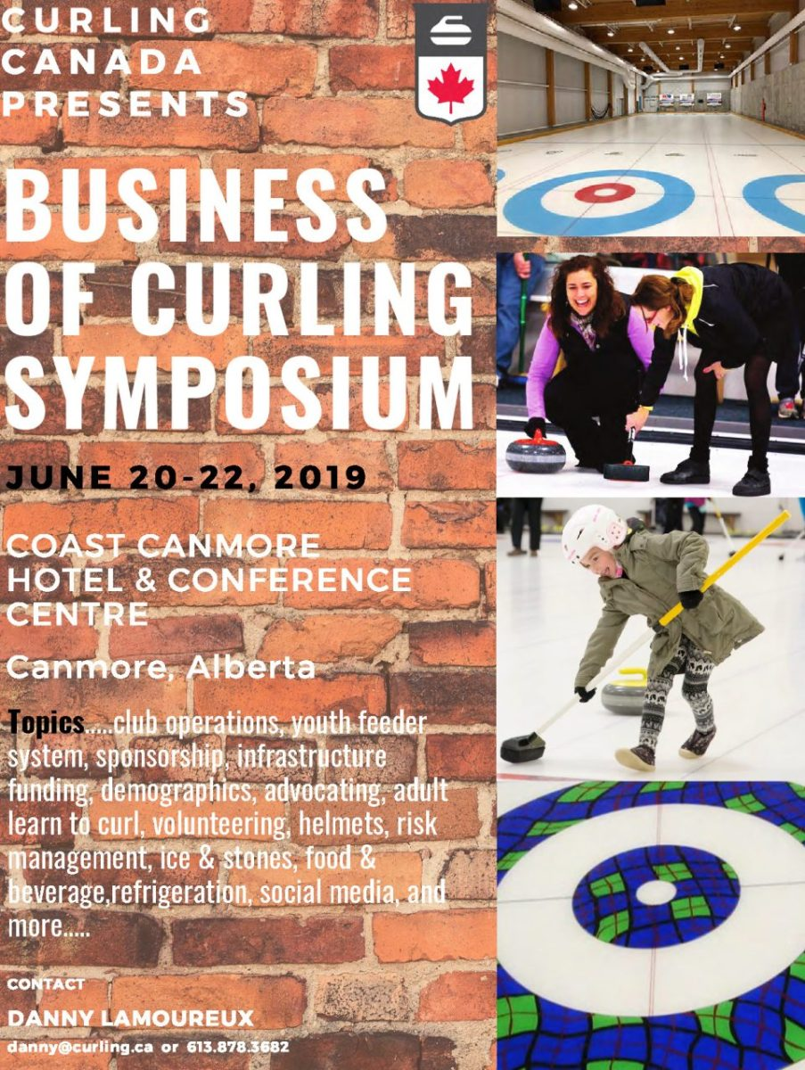 Business of Curling Symposium in Canmore AB in June