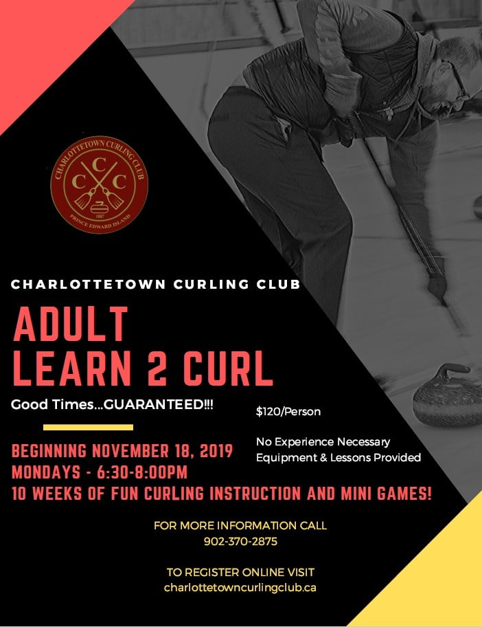 10 Week Learn to Curl League at Ch'town @ Charlottetown Curling Complex