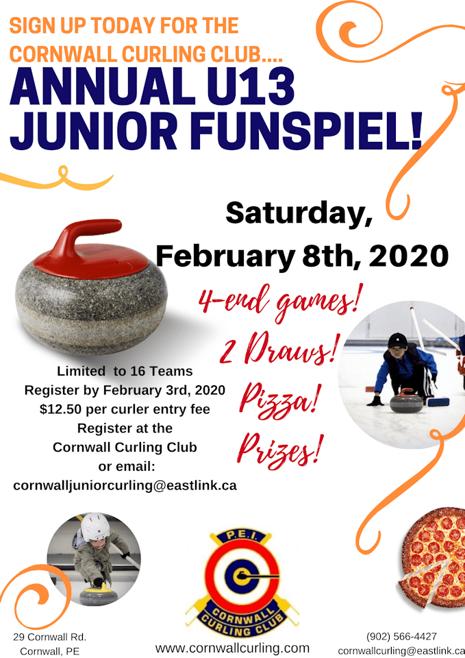U13 Funspiel @ Cornwall Curling Club