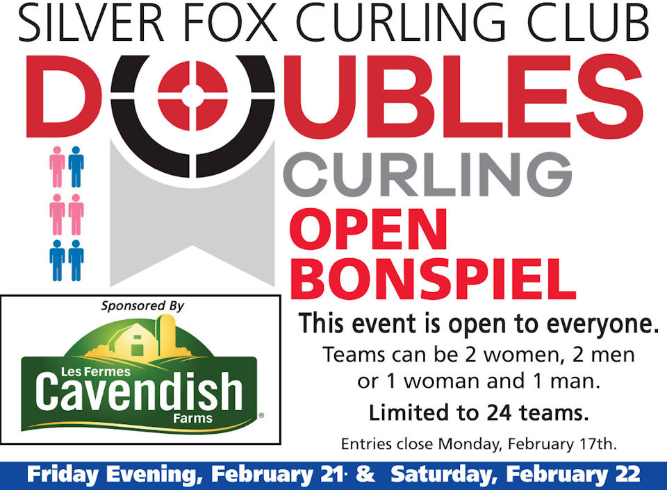 Silver Fox Cavendish Farms Doubles Bonspiel @ Silver Fox Curling and Yacht Club