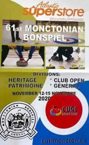 CANCELLED: Atlantic Superstore presents the 61st Monctonian Bonspiel @ Curl Moncton