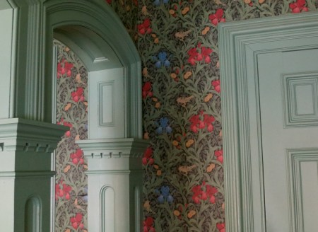 Detail of the woodwork in the 1st-floor drawing rooms. Photo credit: M.W. Ferris Photography