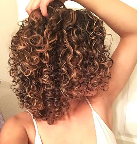 Curly Perm Curls After