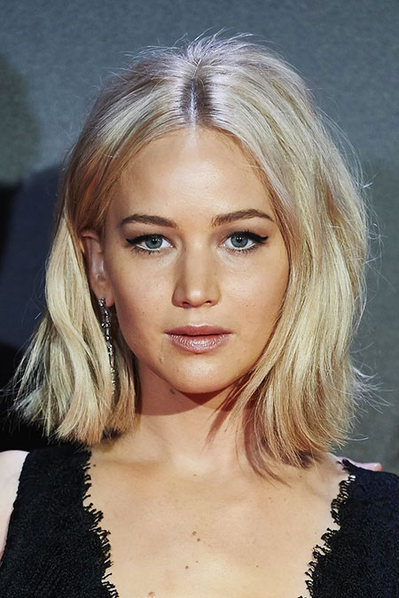 Jennifer Lawrence, cabello rubio Lawrence Light