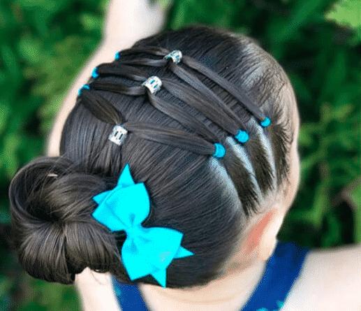 5 Modelos De Peinados Con Ligas De Colores Y 4 Herramientas