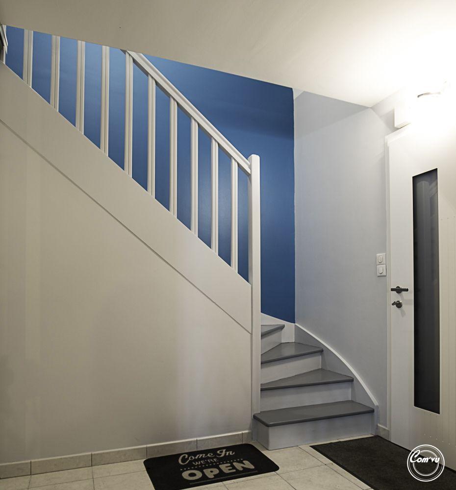 Travaux Rnovation Cage Escalier Rennes Peinture