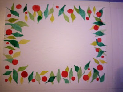 couronne-noel-aquarelle