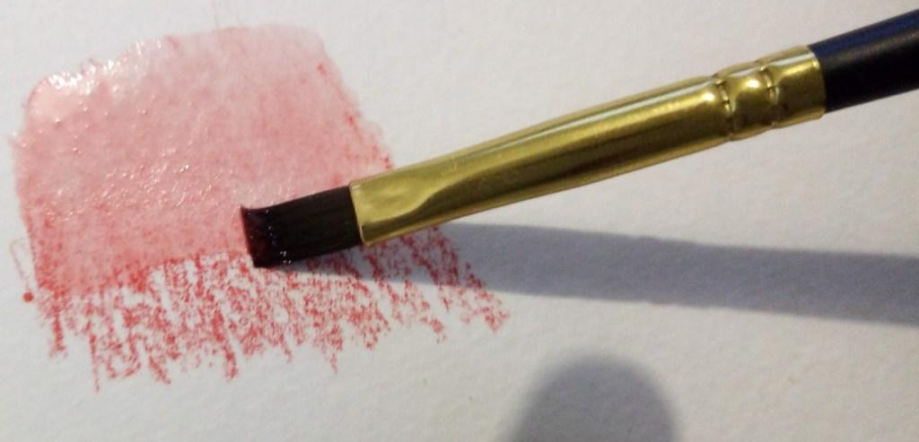 Utilisation du crayon aquarelle