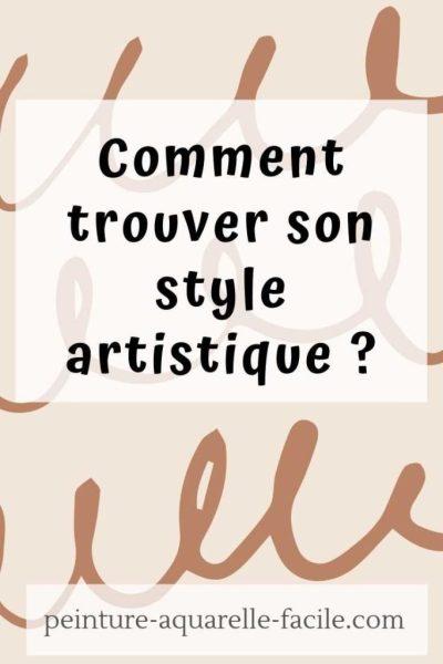 Comment trouver son style artistique pour Pinterest