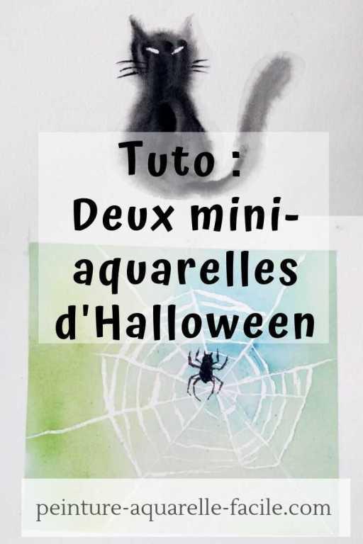 Épingler sur Pinterest l'article aquarelles d'Halloween
