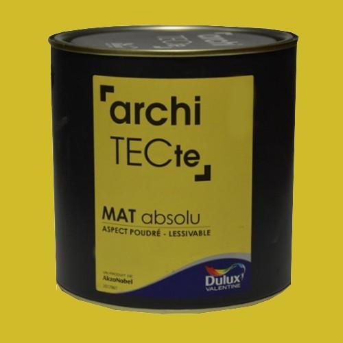 Peinture DULUX VALENTINE ArchiTECte Mat Absolu Phosphore