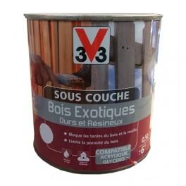v33 sous couche bois exotiques durs et resineux incolore