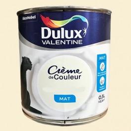 dulux valentine peinture acrylique creme de couleur lin clair mat