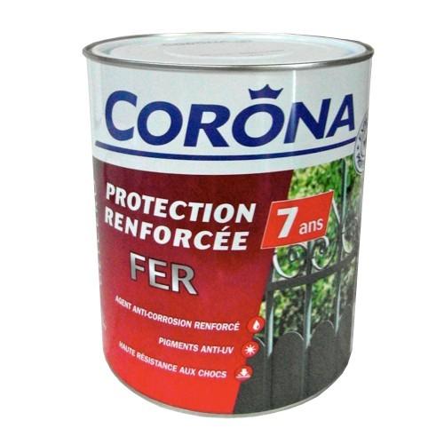 CORONA Peinture Fer Protection Renforce 7 Ans Blanc
