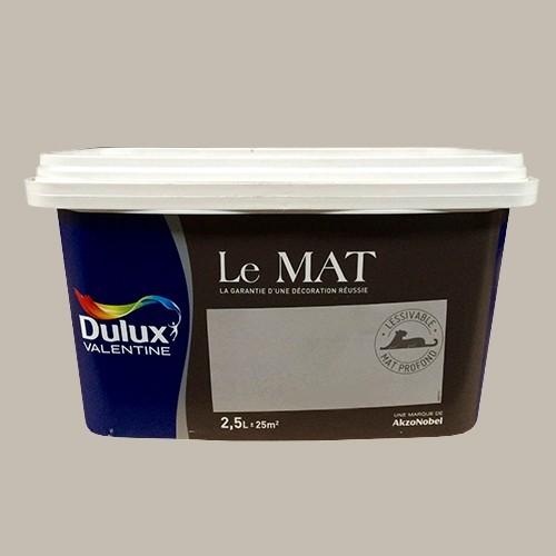 Peinture DULUX VALENTINE Le Mat Argile Douce 25L Pas Cher