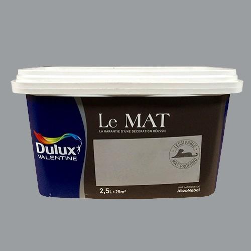 Peinture DULUX VALENTINE Le Mat Gris Sage 25L Pas Cher En