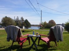 Muskoka Chairs on the Front lawn 1