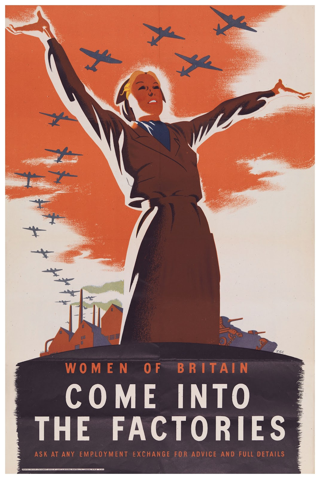 British War Posters Vs American War Posters Weapon On