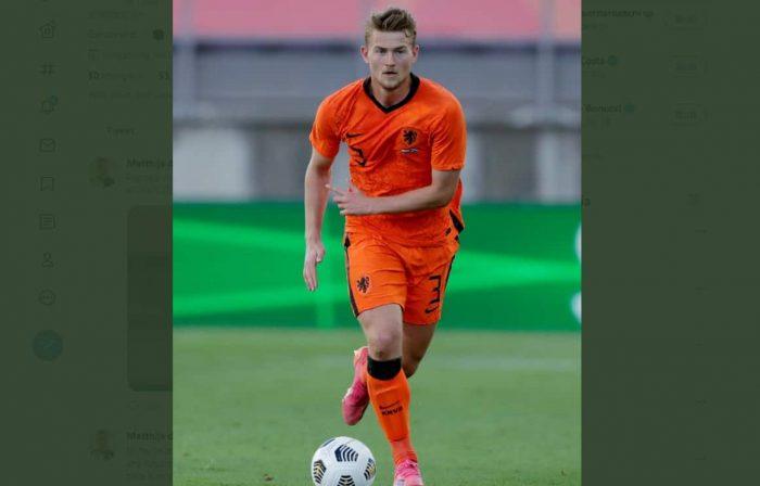 Timnas Belanda Kalah