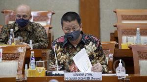 Irfan Setiaputra, Dirut Garuda Indonesia
