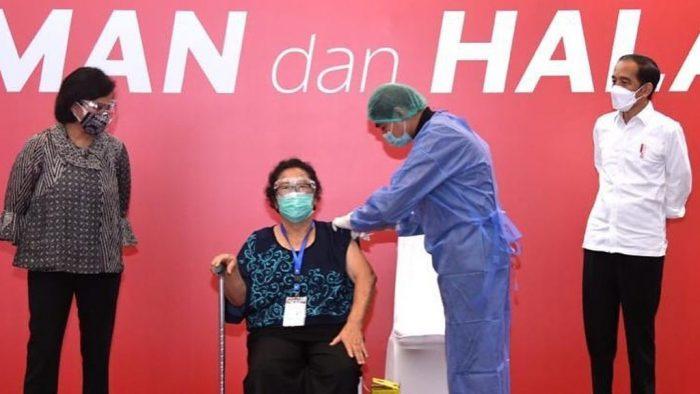 Vaksinasi di Bursa Efek Indonesia