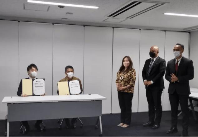 Penandatanganan Kontrak Ekspor Tempe Indonesia ke Jepang