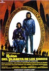 Cartel de la película Huida del planeta de los simios