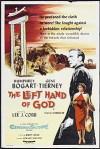 Cartel de la película La mano izquierda de Dios