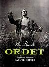 """Cartel de la película Ordet """"La palabra"""""""