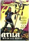 Cartel de la película Atila rey de los Hunos