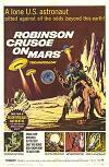 Cartel de la película Robinson Crusoe en Marte