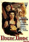 Cartel de la película Esmeralda la Zíngara