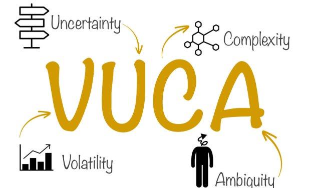 "VUCA ""Volatility, Uncertainty, Complexity, Ambiguity"""