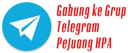 Gabung Telegram PejuangHPA Thumb