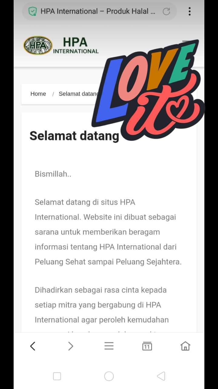 Situs Web Leader HPA diluncurkan