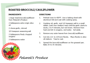 Broccoli -Roasted Recipe_PekareksProduce2