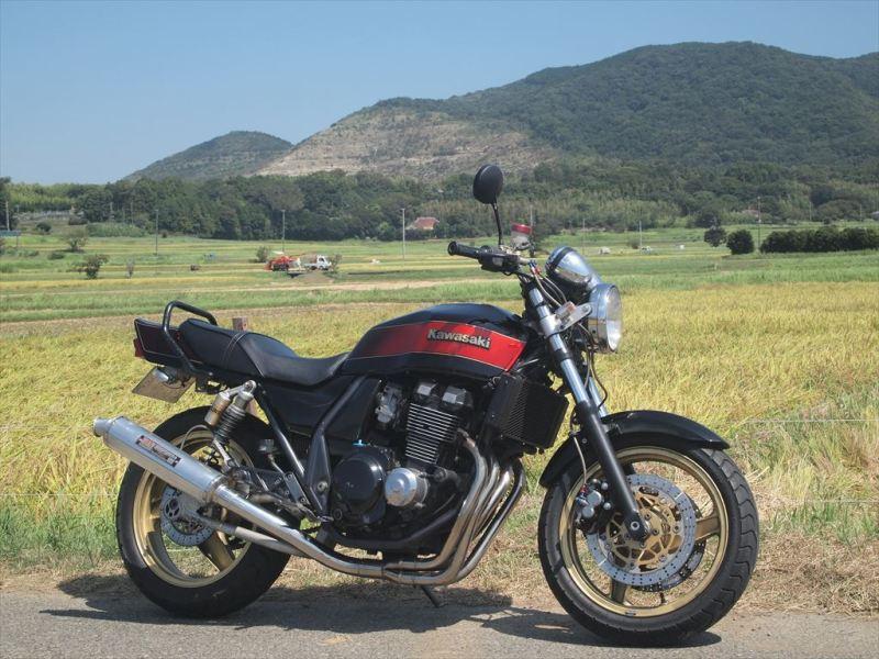 400㏄バイクの例(ZRX400)
