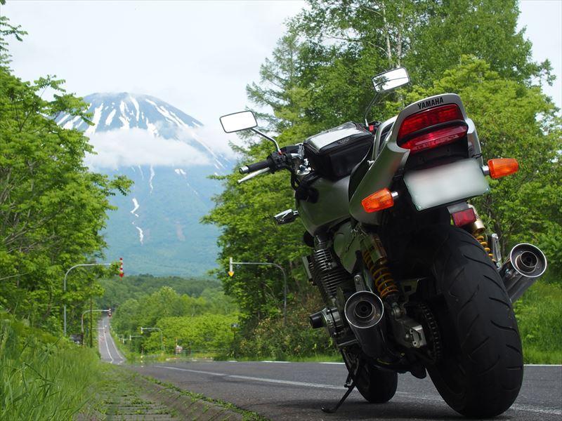 北海道ツーリングの写真