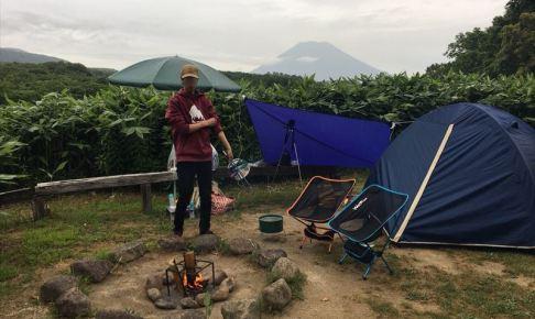 ニセコサヒナキャンプ場のフリーサイト
