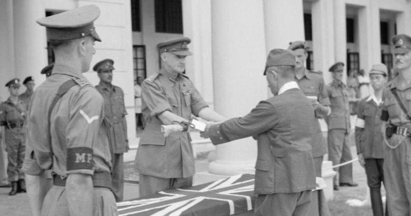 Permulaaan Pentadbiran Tentera British Di Tanah Melayu Pekhabar