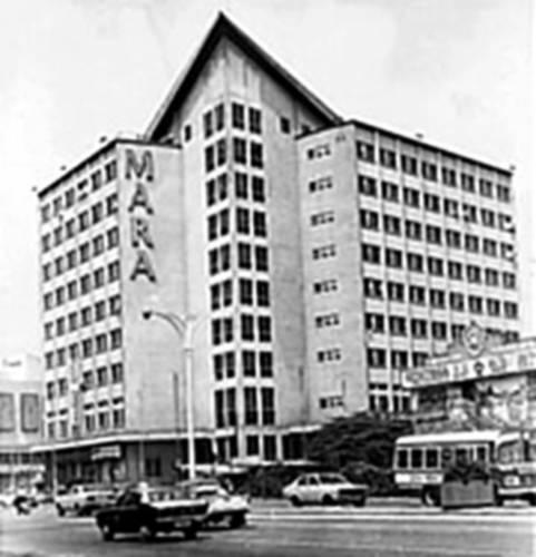 bangunan majlis amanar rakyat mara 1966