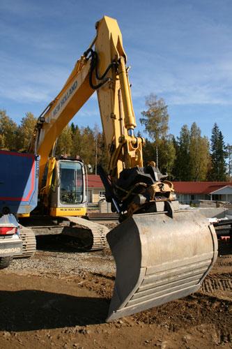 Pekka Siuko hoitaa kaivutyöt Ylöjärvellä