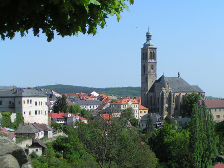 """""""Kutná Hora - """" od Cheva – Vlastní dílo. via Wikimedia Commons."""