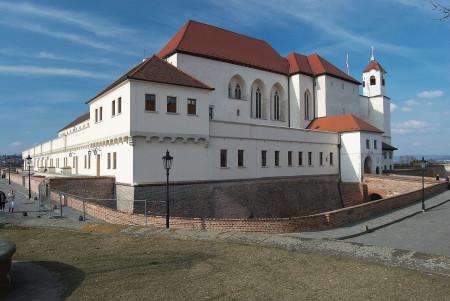 """""""Mesto Brno - hrad Spilberk"""" od Kirk – Vlastní dílo. Licencováno pod  Wikimedia Commons."""