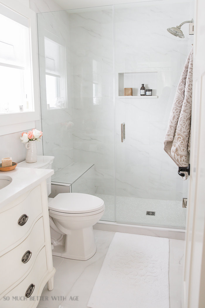 Best Small Bathroom Renovation And 13 Tips To Make It Feel ... on Small Bathroom Renovations  id=80890