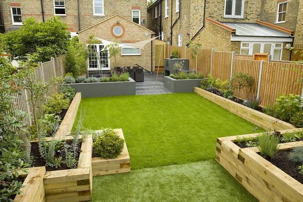 Get Terraced Garden Design Ideas And Tips For A ... on Rectangular Backyard Design id=95638