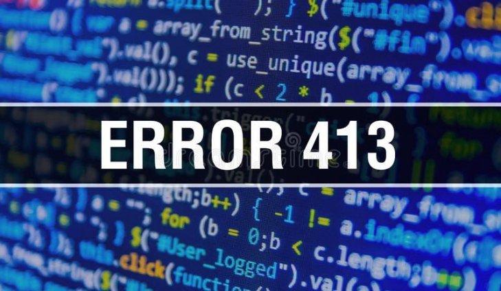 Cara Mengatasi Error 413