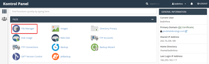 Maximum Execution Time of 30 Seconds - cPanel