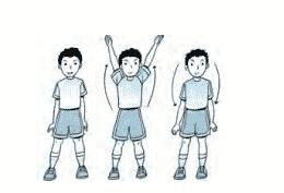 Senam Irama - Mengayun kedua lengan