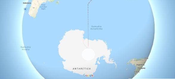 Pengertian Samudra - Antartika